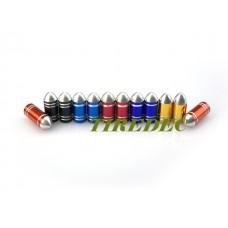 Aluminum Bullet Tire Valve Caps (300/bag)