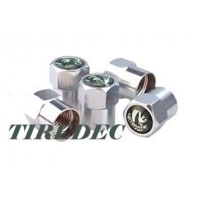 Brass Nitrogen Tire Valve Caps (PK 1000)