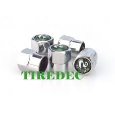Dark Green Tire Valve Caps (200/bag)