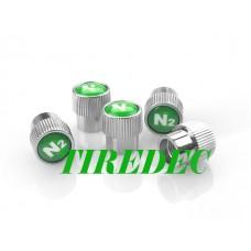 BMW Valve Stem Caps with Nitrogen (N2) Logo, 200pcs