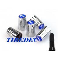 Schrader TPMS Long Blue Valve Stem Caps (PK 200)